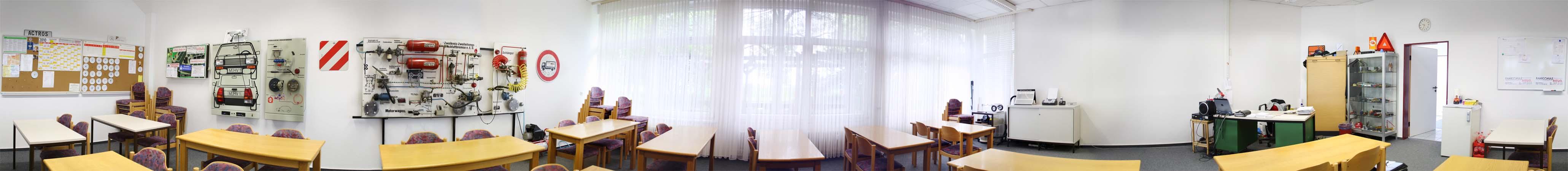Panorama Klassenraum
